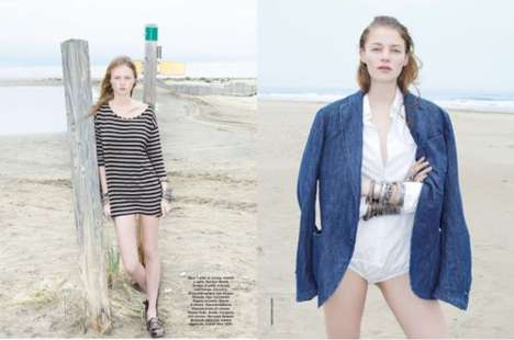 Beachy Bohemian Editorials
