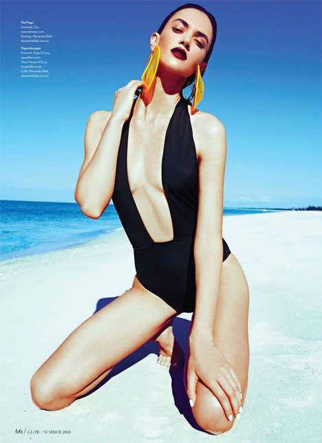 Sensual One-Piece Swimsuits