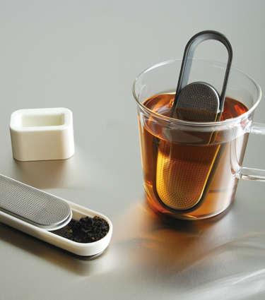 Futuristic Metallic Teabags