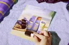 Solar-Powered Print Ads - Nivea Magazine Ad Charges Your Smartphone and Devices Via the Sun