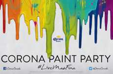 Downtown Paint Publicity Stunts