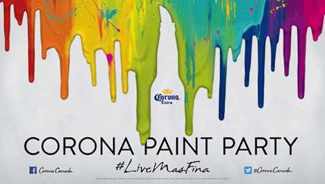 Downtown Paint Publicity Stunts