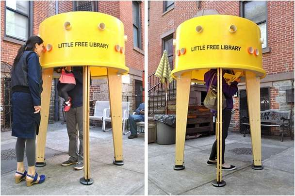 Petite Pop-up Libraries