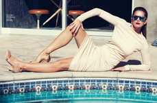Poolside Supermodel Editorials