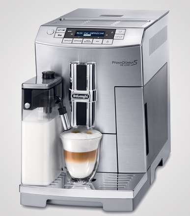 Memory-Equipped Cappuccino Makers
