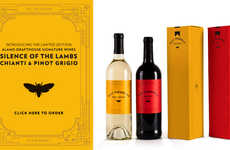 Cannibalism-Inspired Wines - Hannibal Lecter Would Surely Like These Peculiar Wines