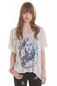 Hand-Sketched Illustrated Apparel