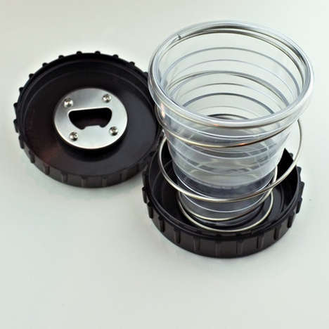 Collapsible Drinking Glasses
