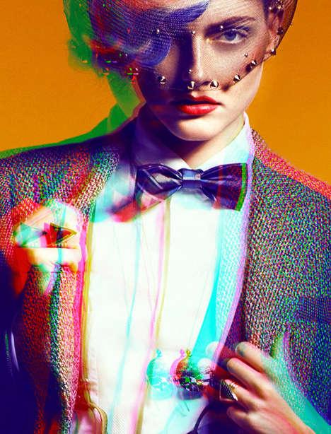 Bright Blurred Fashion Photography