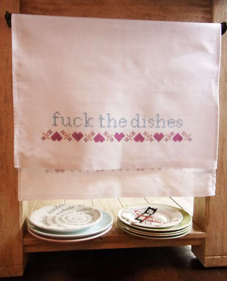 Vulgar Tea Towels