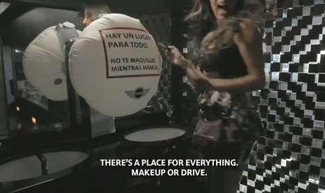 Airbag Pop-Up Prank Ads