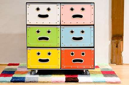 Smiling Stackable Storage