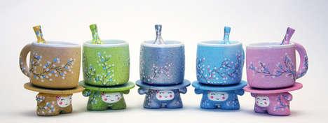 Squat Sumo Tea Sets