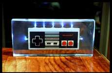 Gamer-Made Night Lamps - Gamers Can Re-Create Their NES Controllers with This Crafty DIY
