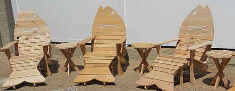 Fish-Inpsired Cottage Chairs