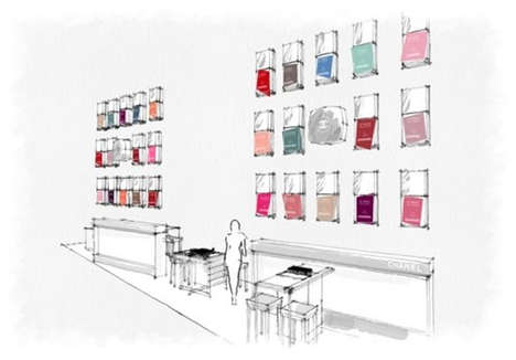 Pop-Up Designer Nail Bars - The Les Vernis Couleurs Culte de Chanel Nail Bar is Coming to Selfridges