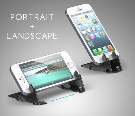 Wallet-Sized iPhone Tripods