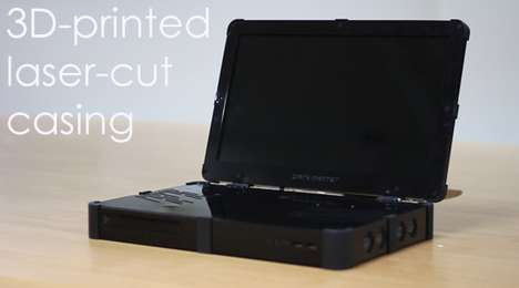 DIY Portable Gaming Kits - The Darkmatter DIY Portable Gaming Kit is Easy to Assemble