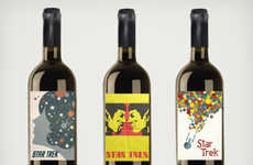 Tasty Trekkie Wines - These Designer Star Trek Wines Let Trekkies Drink Long and Prosper