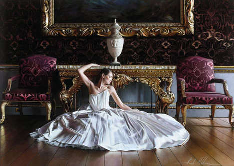 Ballet-Inspired Nuptial Paintings