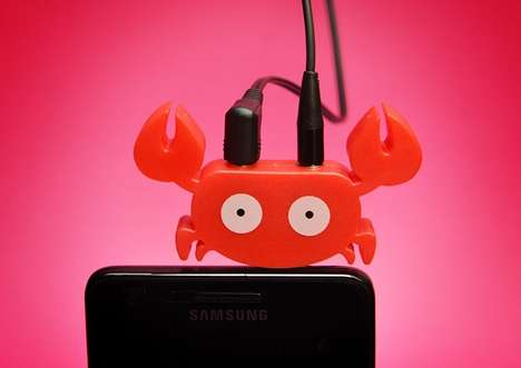 Wildlife Headphone Accessories - Eduardo Alessi Creates Cute Phone Accessories with a Dual Purpose