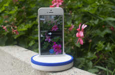 Panoramic Phone Mounts - The 'Spin Pod' Rotates to Give You the Perfect Panoramic Shot