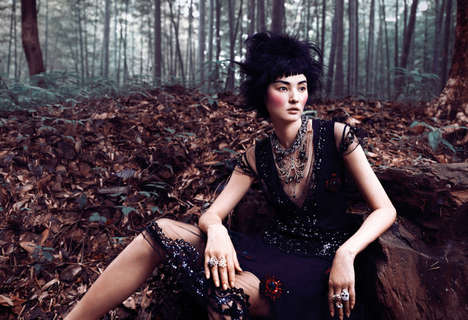 From Forest Goddess Editorials to Softly Cinematic Shoots