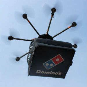 Robotic Pizza Delivery Drones