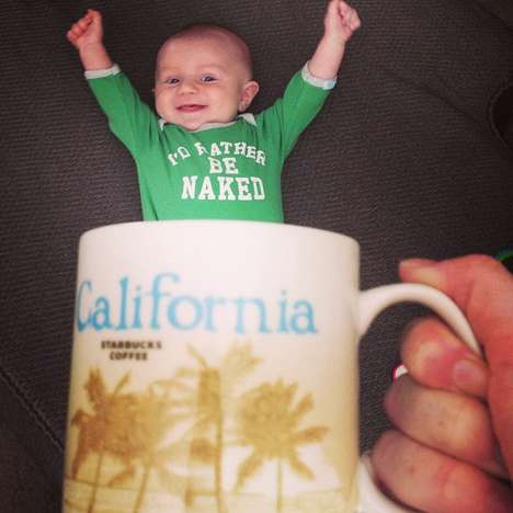 Baby Mug Photo Shoots