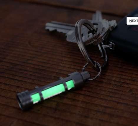 Glowing Keychain Locators