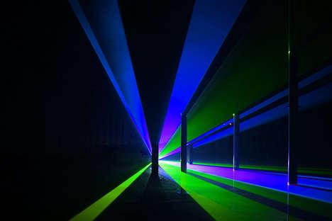Fake Laser Lit Rooms