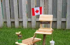 DIY Mini Tree Houses - This Creative DIY Project Demonstrates How to Make a Toy Tree House