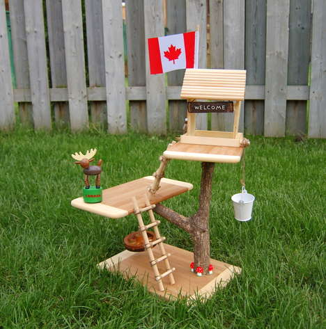 DIY Mini Tree Houses