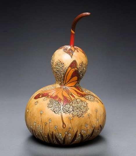 Intricate Vegetable Sculptures