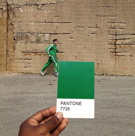 Color Matching Photography - Photographer Paul Octavious Finds Pantone Matches in Real Life