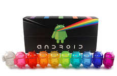 Smartphone Character Collectibles - Android is Releasing a Set of Mini Characters in a Rainbow Pack