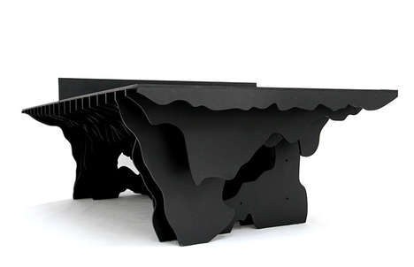 Topographical Tennis Tables