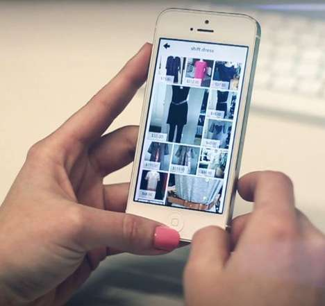 Item-Hunting Fashion Apps - The 'Walkby' App Does Your Clothing Shopping for You