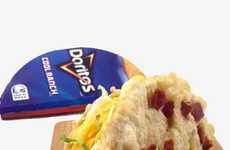 Fried Tortilla Chip Tacos - The Deep Fried Doritos Locos Taco Takes Taco Bell to New Heights