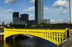 Bold Currency-Imitating Architecture - Robin Stam Builds Real Versions of the Bridges on the Euro