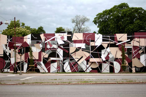 Fragmented 3D Murals