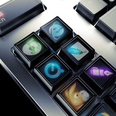 Optimus Organic LED Keyboard