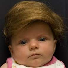 Baby Toupees - Little People Sporting Big People Hairstyles