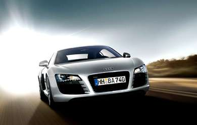 The 2007 Audi R8