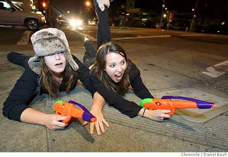 Street Wars Water Gun Assassination Game - Live in NYC