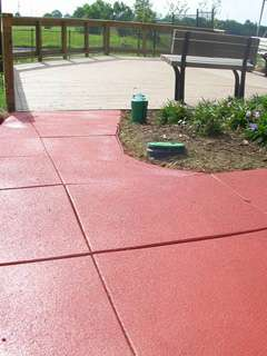 Rubber Sidewalks - Environmentally Friendly, Aesthetically Pleasing and Safe