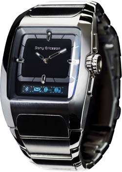 Bluetooth Watches - MBW-100  Links to your Mobile Phone,  Displays Image of Person Calling You!