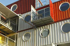 Box-Car Living - Houses Made From Shipping Containers