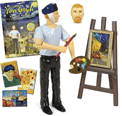 Van Gogh Action Figure