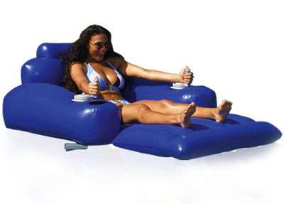 Motorised Pool Lounger - Travel Faster Around The Pool